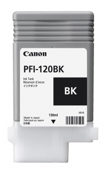 Original Canon PFI-120 BK, 130ml